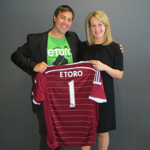 #eToro , the global #socialtradingnetwork announced their #partnership with the iconic east #London football club, #WestHamUnited.  The agreement will see eToro become the club's first official social trading partner from the start of the 2015/16 season.  This three year deal comes at an exciting time for both eToro and West Ham, with eToro securing significant #funding from three major banks, including #Commerzbank, in the last year; as well as the development of a ground-breaking…