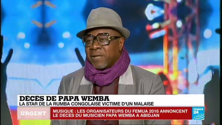 #URGENT La légende de la musique africaine, Papa Wemba est mort sur scène à l'âge de 67 ans. Les précisions