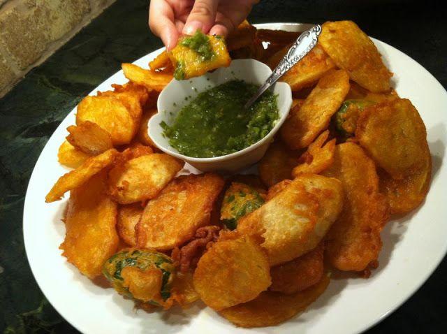 Pakora (Afghan Potato Fritters) ~ Afghan Kitchen Recipes