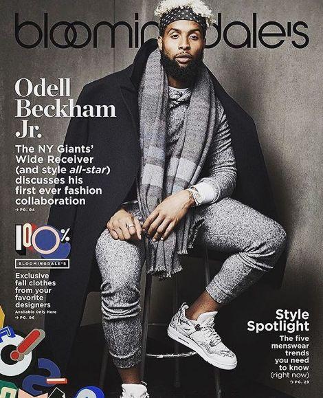Odell Beckham Jr Covers Bloomingdales Magazine http://www.herpinkjersey.com/odelll-beckham-jr-covers-bloomingdales-magazine/