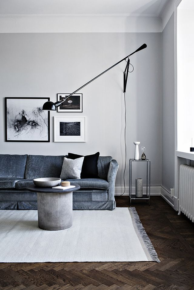 my scandinavian home: A Swedish space with lovely warm pools of light