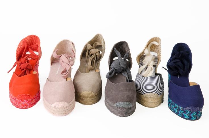 Castañer x SILVIA TCHERASSI - CARINA #Castañer # SilviaTcherassi #Castaner #shoes #espadrilles #alpargatas #zapatos #madeinspain #designer #wedge