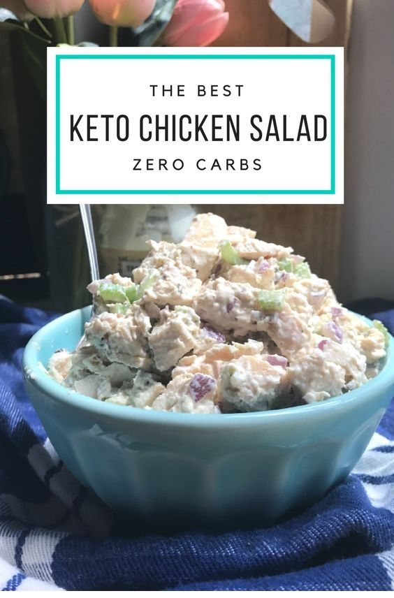 Keto Chicken Salad Rotisserie Canned And Leftover Chicken Recipes Tipstravel Keto In 2019