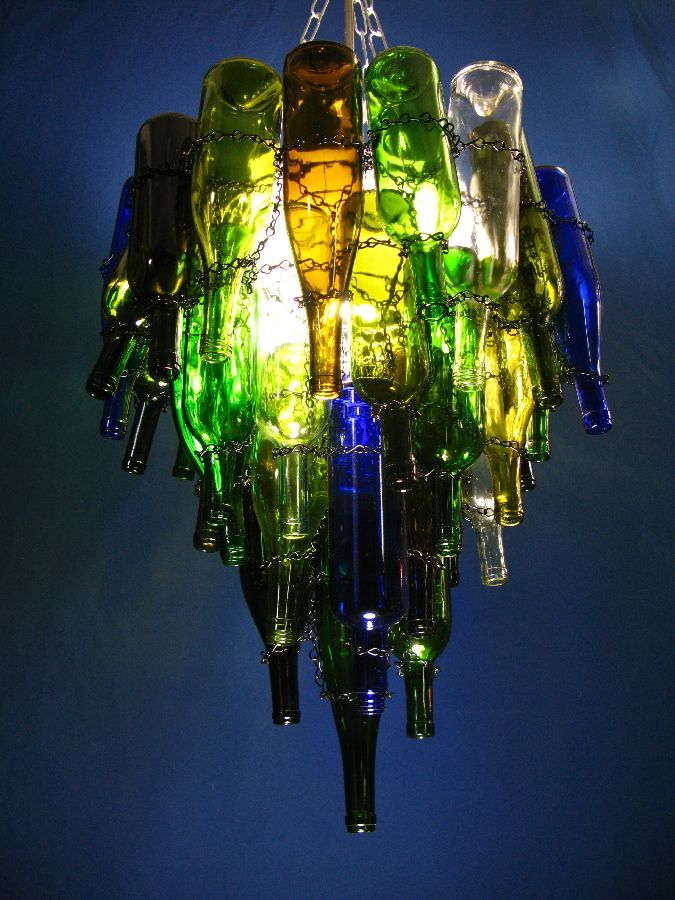 Best 25 Wine Bottle Chandelier Ideas On Pinterest Recycled Bottles And Of Patron