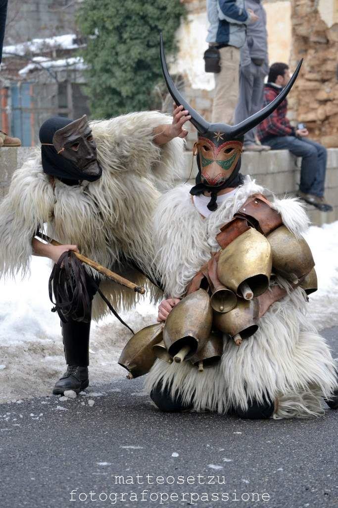 Carnevale di Ottona, Sardegna