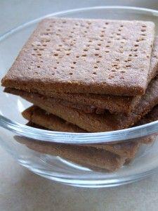 Homemade Graham Crackers - Little House on the Prairie Living