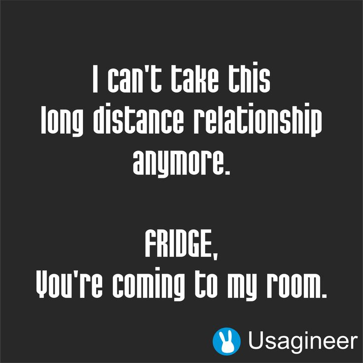 i cant stand this long distance relationship fridge