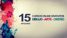15 cursos online gratis de Dibujo, Arte y Diseño (con certificado) - Oye Juanjo!