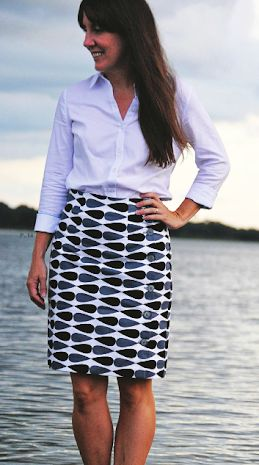 Arielle skirt - sewing pattern by Tilly and the Buttons
