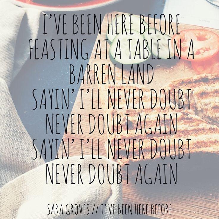 28 best Sara Groves images on Pinterest | Lyrics, Music lyrics and ...