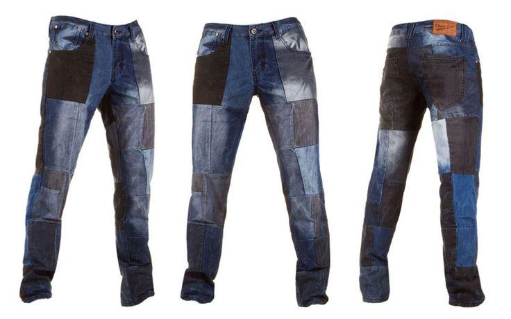 Trendy blocked jeans €24,99 http://mymenfashion.com/blocked-denim-jeans.html