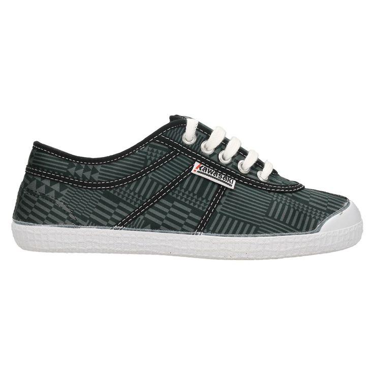 Zapatillas Kawasaki Basic Geo Black  #zapatillas #moda #verano