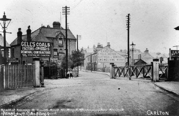 Midlands Crossing, Carlton 1880's-1900's
