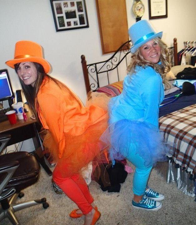Best friends Halloween costume dumb and dumber