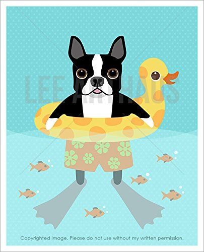 147 best Lee ArtHaus Boston Terrier Dog Products images on Pinterest