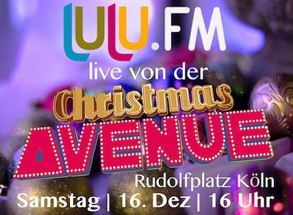 lulu.fm sendet live von der Christmas Avenue. Am 16. Dezember ab 16 Uhr.  #lulufm #lsbt #lgbt #christmasavenue #gay #instagay #köln #cologne #radio