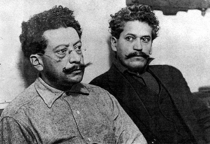 Hermanos Flores Magón -Revolución Mexicana