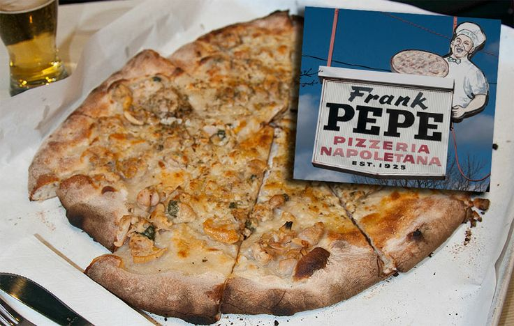 Frank Pepe's White Clam Pizza, New Haven