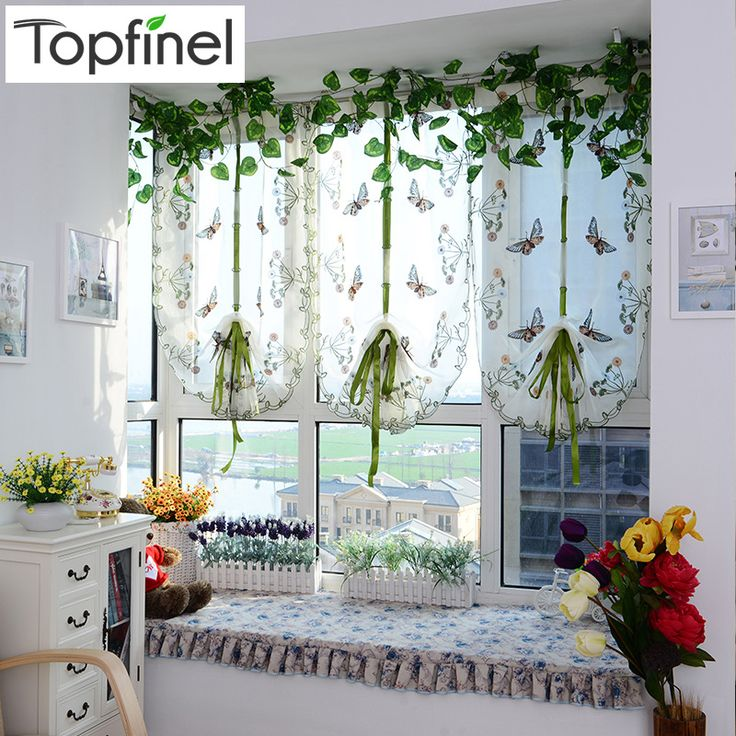 Top Finel Butterfly Tulle for Window Roman Shades Window Curtain Blinds Embroidered Sheer Curtains for Kitchen Living Room Panel #>=#>=#>=#>=#> Click on the pin to check out discount price, color, size, shipping, etc. Save and like it!