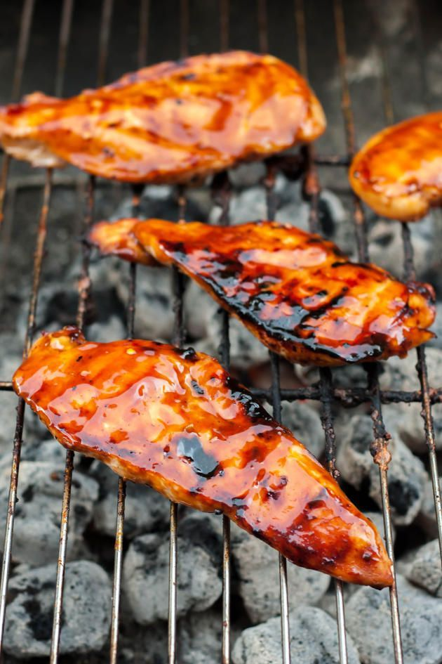 Gluten Free Teriyaki Chicken has a marinade that also doubles as a teriyaki sauce. Delicious!