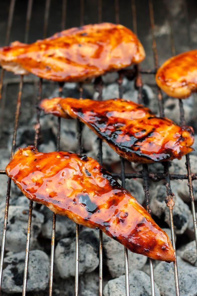 Gluten Free Teriyaki Chicken has a marinade that also doubles as a teriyaki sauce. Delicious!