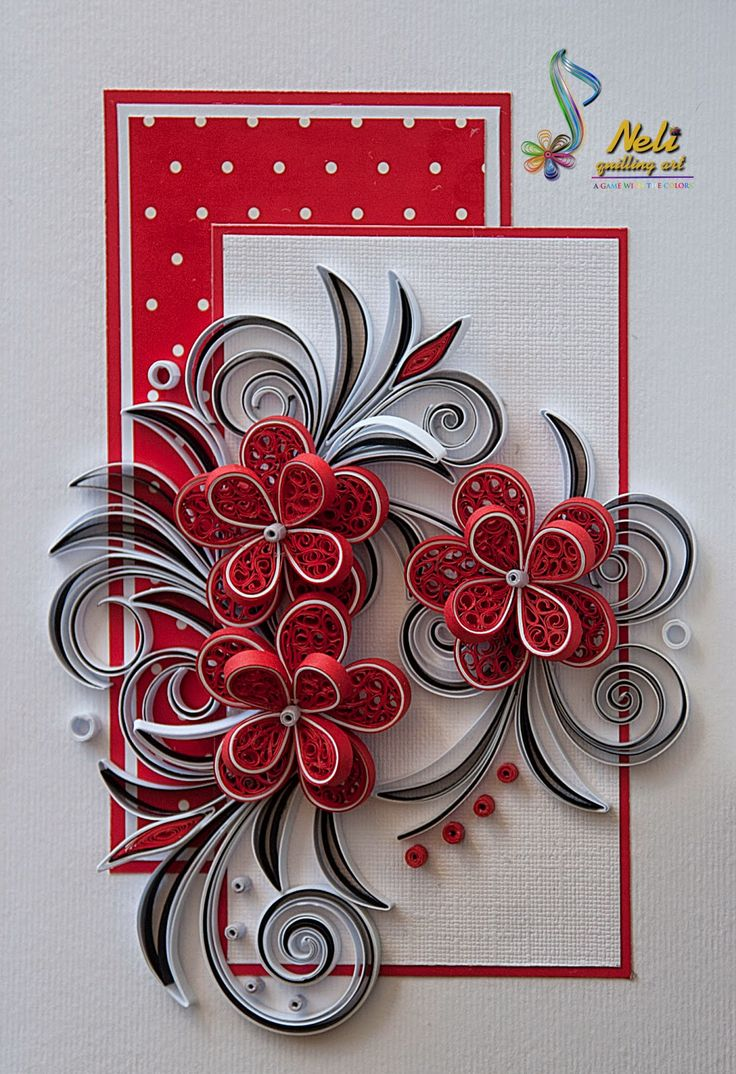 Открытки днем, квиллинг как украсить открытку
