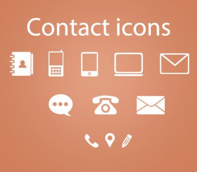 Business card icons psd casino zodiac hera re 23 sets of free contact icons in vector and psd formats that you can reheart Images