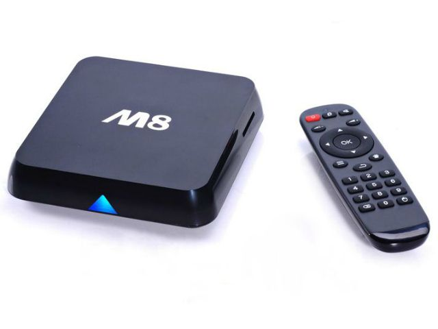 Turn your dumb TV into a smart Android based computer for connecting to the internet, Netflix, Facebook, Twitter and much more with the M8 Android Set Top Box. GetdatGadget.com/m8-tv-box-turns-tv-android-smart-tv/
