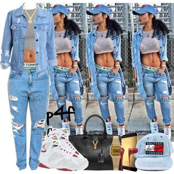 Passion 4Fashion: Aaliyah 4Ever by shygurl1 on Polyvore featuring polyvore fashion style Yves Saint Laurent Casio Versace Beats by Dr. Dre