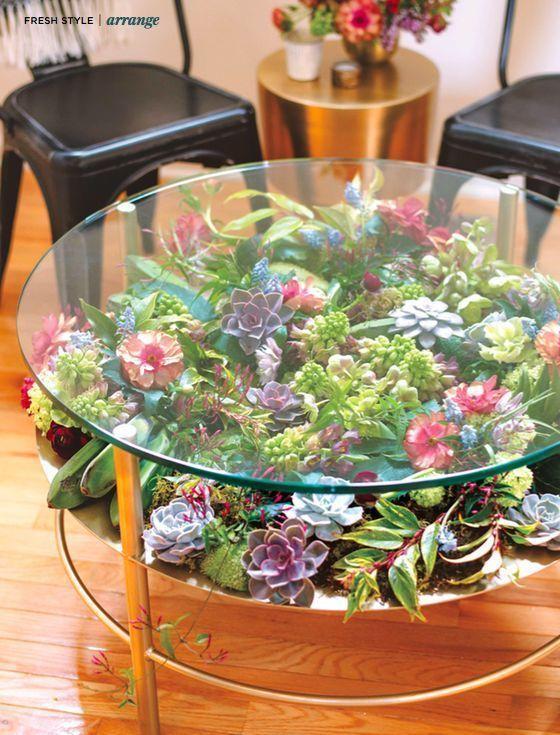 Über 23 Möglichkeiten, Ihr Zuhause mit Sukkulenten zu dekorieren – #Dekorieren