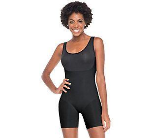 Spanx Trust Your Thinstincts Mid-Thigh Bodysuit