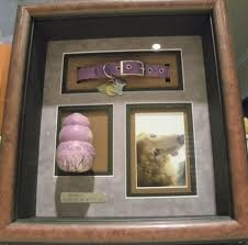 http://www.steveshannoncollection.com Wood Urn, Cremation Urns, Cremation Urn, Pet Urns, Pet Urn, Keepsake Urns Pet shadow box to keep your beloved companion's few belongings.