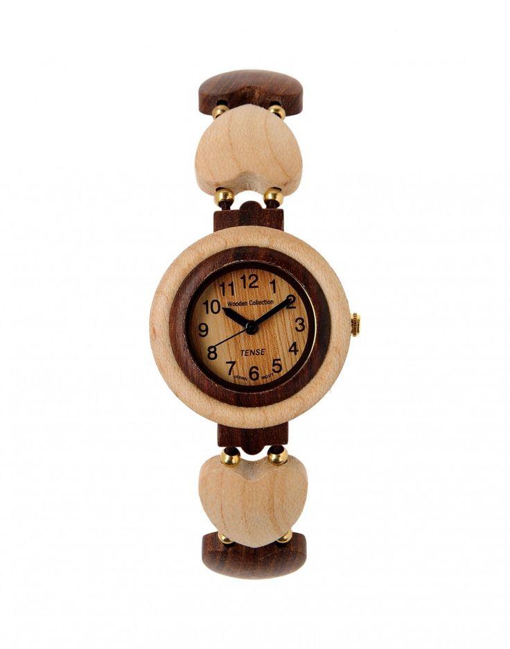 Minden óra Kanadában készül! Anyaga szantálfa, hipóállérgén. Súlya mindössze (15g). Az óra a legmagasabb minőséget képviselő óraszerkezettel (Citizen/Miyota) rendelkezik. Az óra szíja faszívecskék és...
