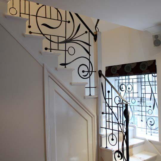 61 Best Art Deco Railings Images On Pinterest: 17 Best Images About Interior . STAIR On Pinterest