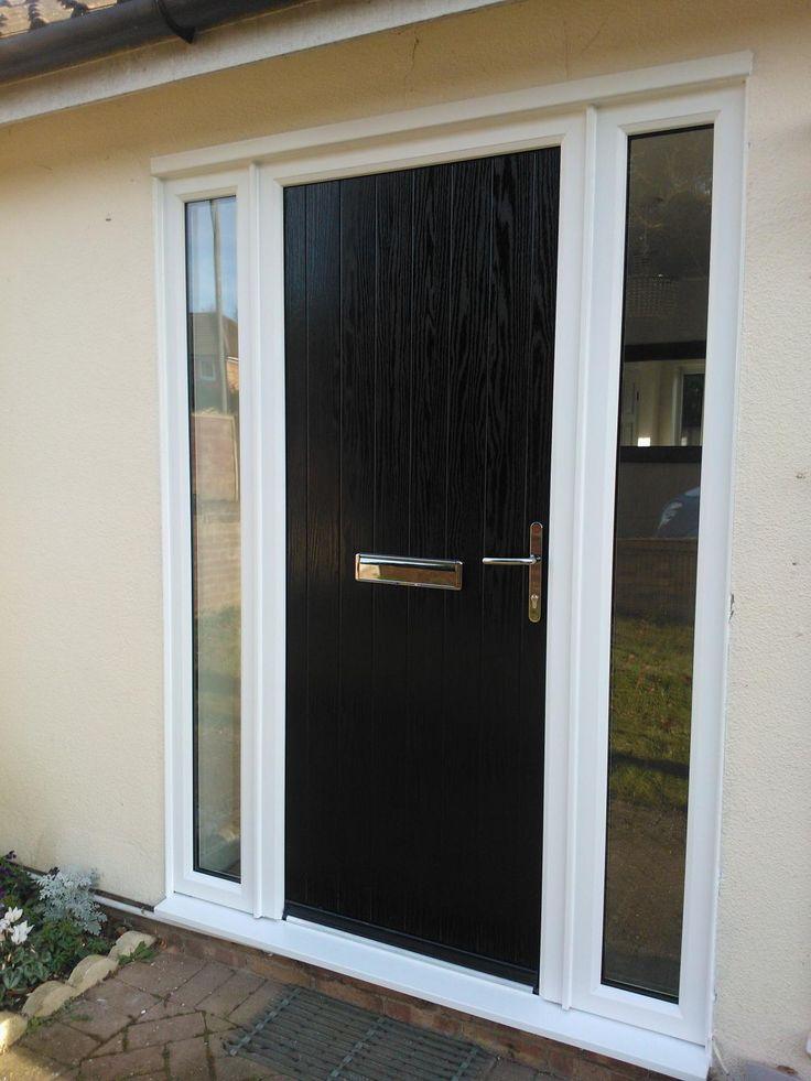 Superb Black Exterior Door 8 Black Front Door Home Depot: Best 25+ Black Composite Door Ideas On Pinterest