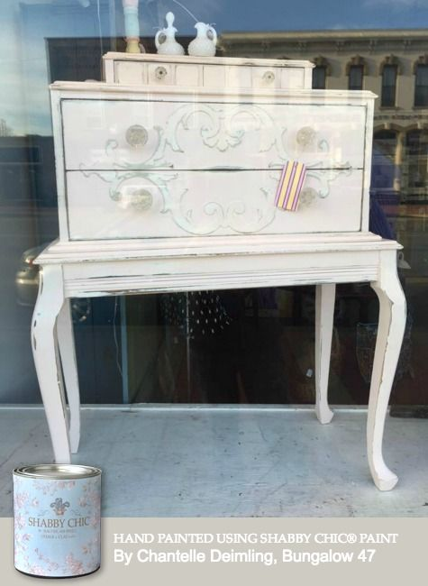 Hand Painted Using Rachel Ashwellu0027s Shabby Chic® Paint