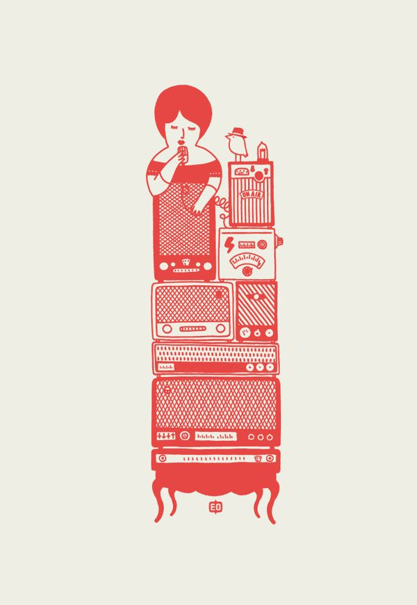 Sing your heart out. Once Upon a Time by engin oztekin, via Behance #Adore