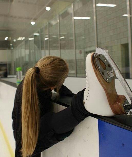 Figure skating - training
