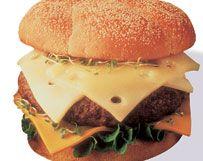 Wisconsin Two-Cheese Burger | Wisconsin Milk Marketing Board