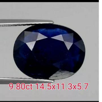 Jual beli natural royal blue sapphire 9.80ct di Lapak rajawali star gemstone - ww98. Menjual Batu Mulia Permata - natural sapphire  weight 9.80ct ets size 14.5x11.5x5.7 color royal blue  treatment gf origin madagascar shape oval cut (body glass mantap ) mitos bulan September  dihubungkan dengan batu safir, lambang kejujuran dan kebersihan jiwa. Konon batu ini warnanya akan berubah jadi gelap jika pemakainya berselingkuh atau punya jiwa dan niat jahat. Libra (23 Sep-22 Okt) Batu Keberuntungan