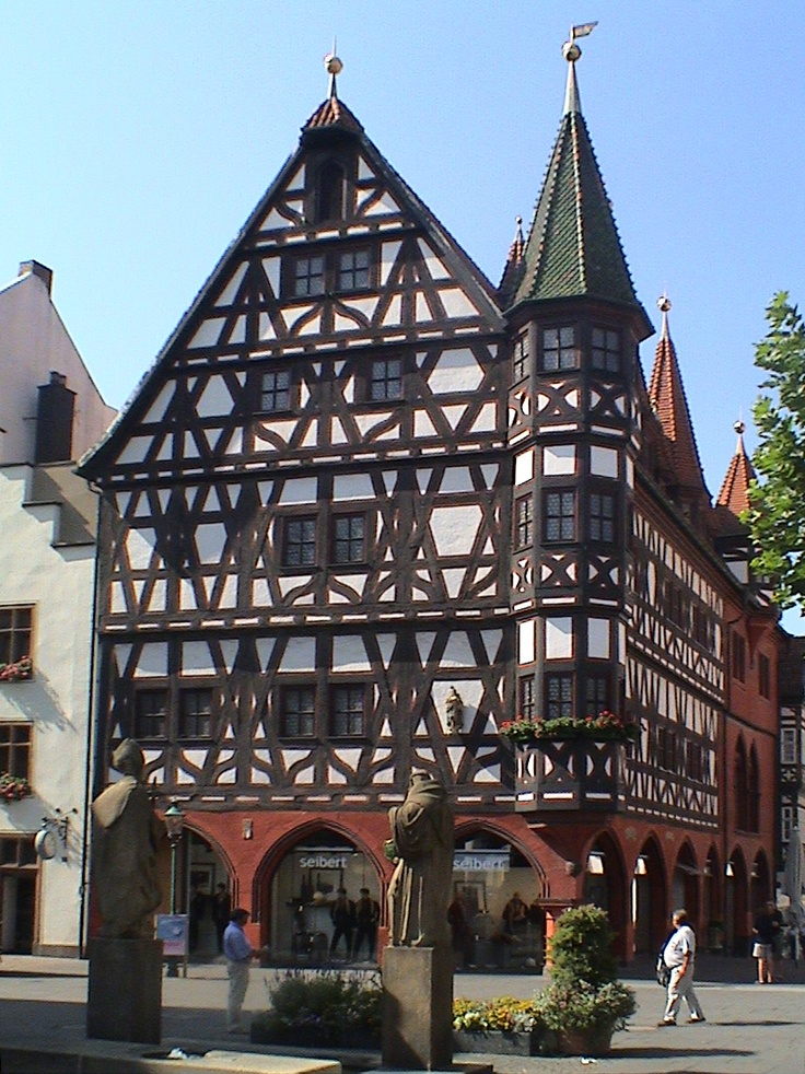 downtown Fulda, Germany...my home for three years
