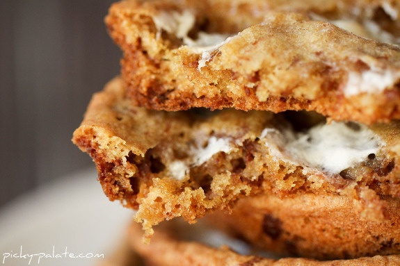Whopper-mallow cookies