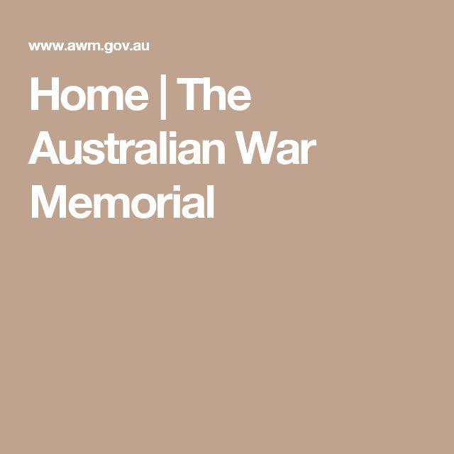 Home   The Australian War Memorial