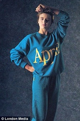 Apple used to have a clothing line. No words.Apples Development, Fashion, Rainbows Shad Apples, Apples Logo, Apples Clothing