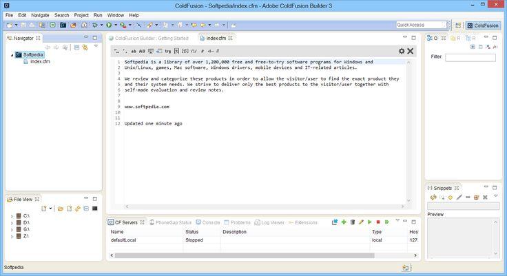 Adobe coldfusion builder 1 download
