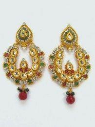 Multi Color Pair Of Earrings