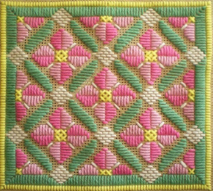 Rose Romance Long Stitch pattern