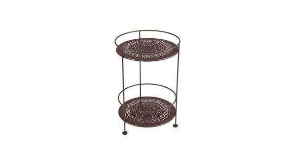 Small table utan hjul - russet - Soffbord & småbord – Möbler från Svenssons i Lammhult