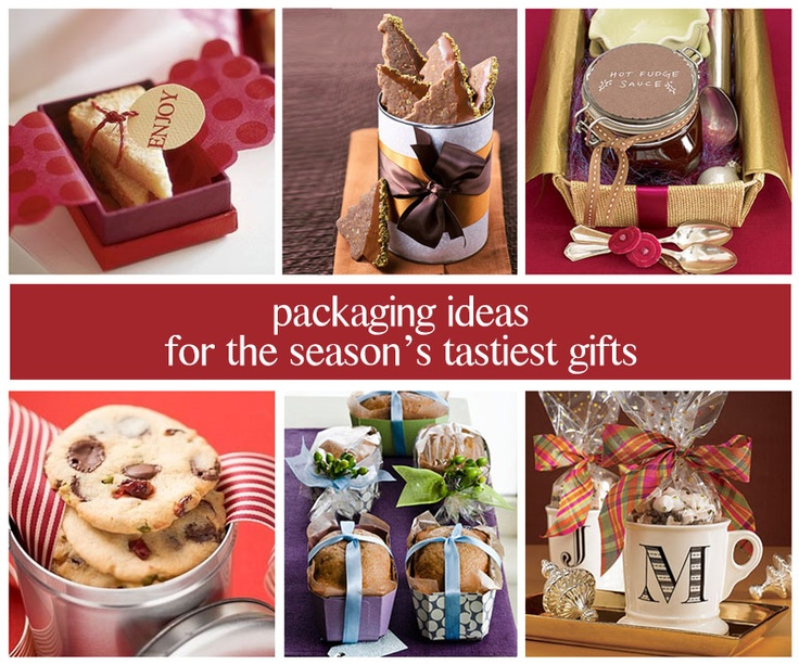 13 best images about baked good packaging on pinterest for Homemade baking gifts for christmas