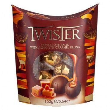 Twister Caramel Wraps 160g